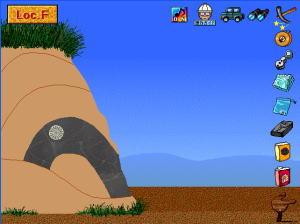 地質巡検の画面