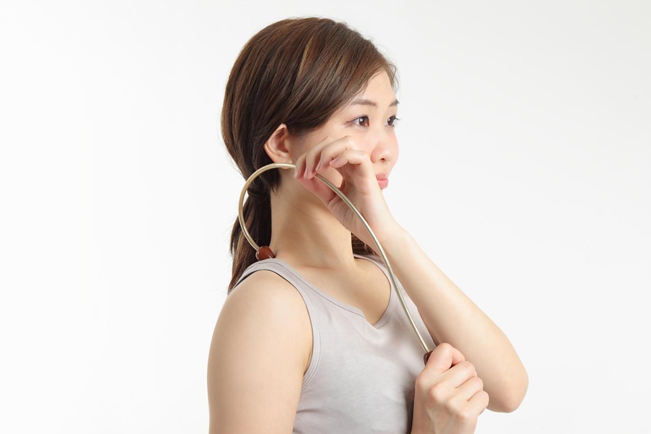 ツボきーくの肩部分の指圧方法